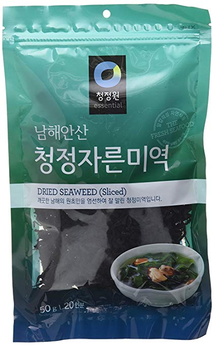 Dried Seaweed (sliced)