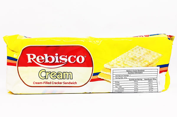 Rebisco Cream Filled Sandwich Cracker
