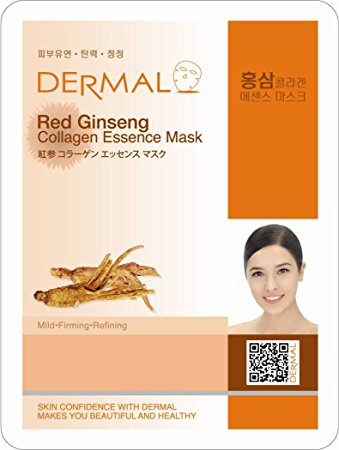 Dermal Red Ginseng Facial Mask