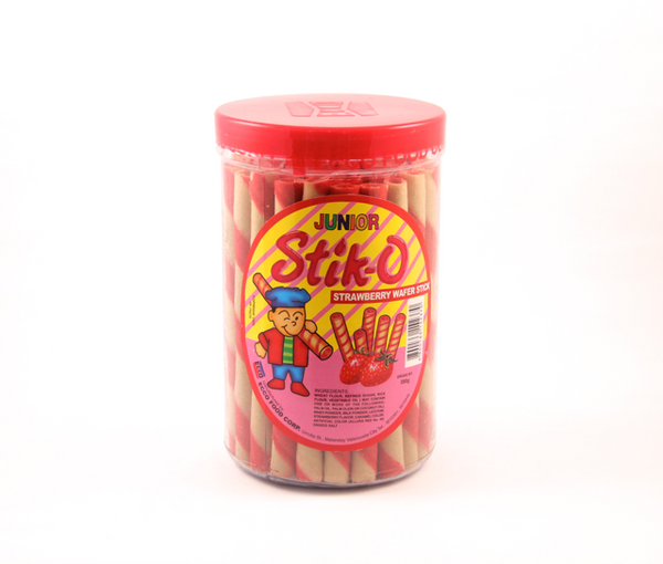 Stik-O Junior Strawberry Wafer Sticks 280G