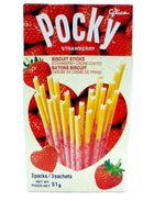Pocky Strawberry Crush
