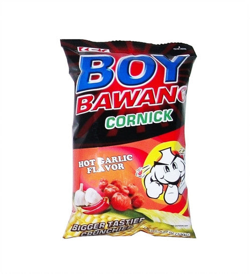Boy Bawang Corn Hot Garlic Flavor