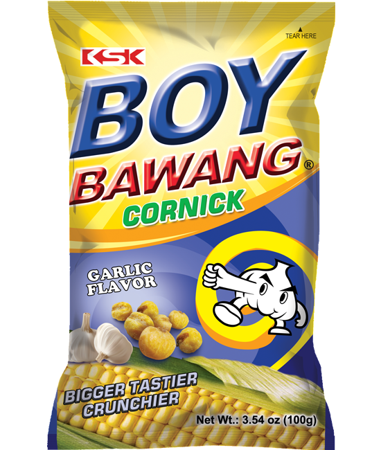 Boy Bawang Corn Garlic Flavor
