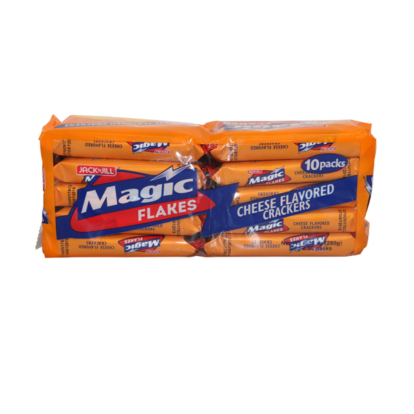 Magic Flakes Cheese Flavored Crackers