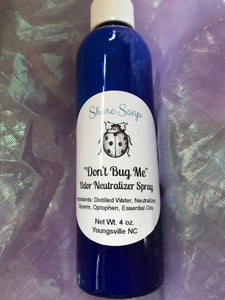 """Don't Bug Me"" Natural Insect Repellant Spray"