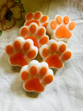 Paw Prints soap for people