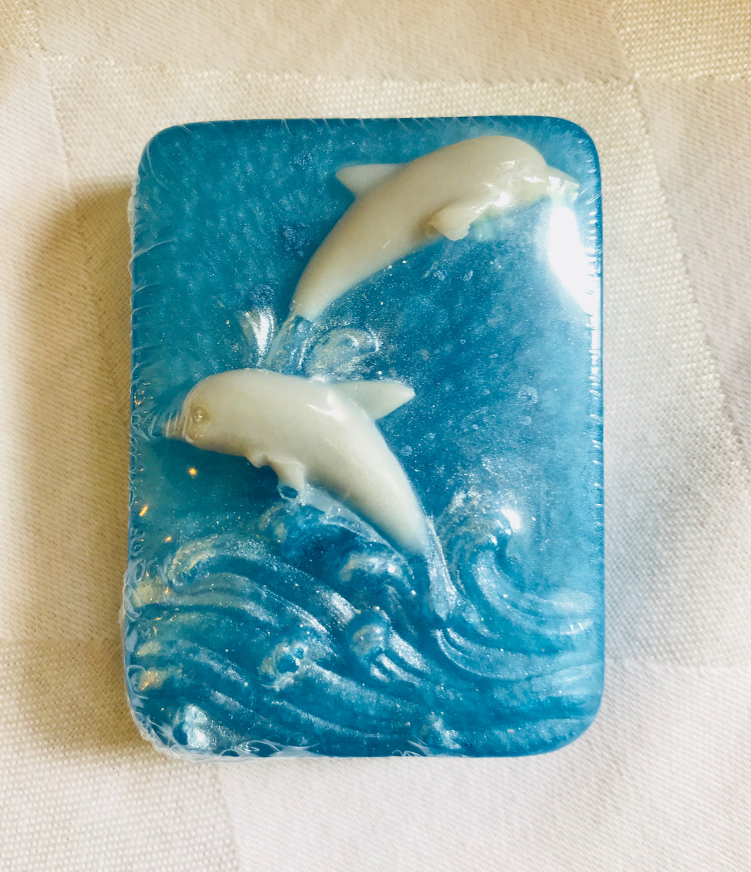 Smaller Dolphin Soap