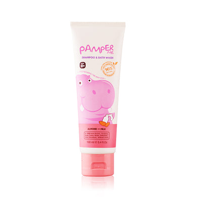 Pamper Me Shampoo & Body Wash Gel - Almond & Milk