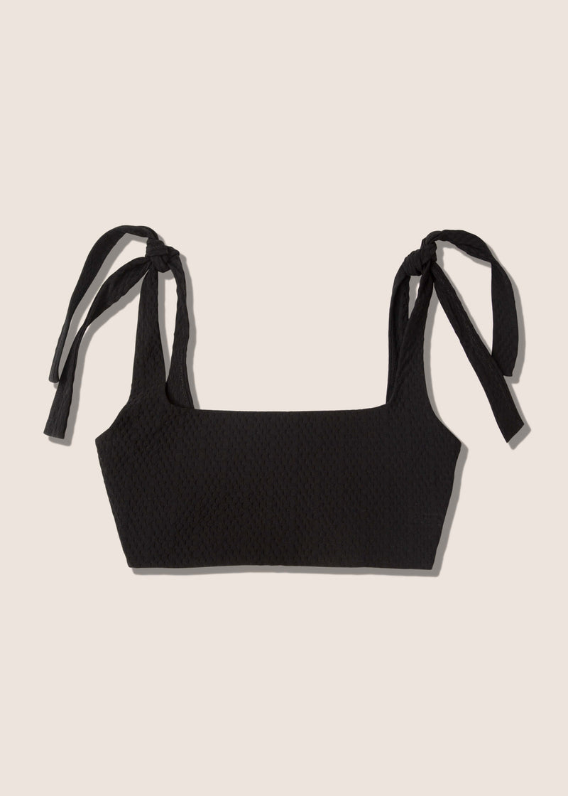 Laura Top (Black Tecno)