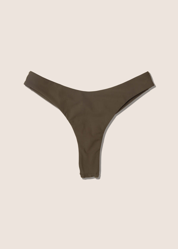 Olivia Thong Bottom (Army Green)