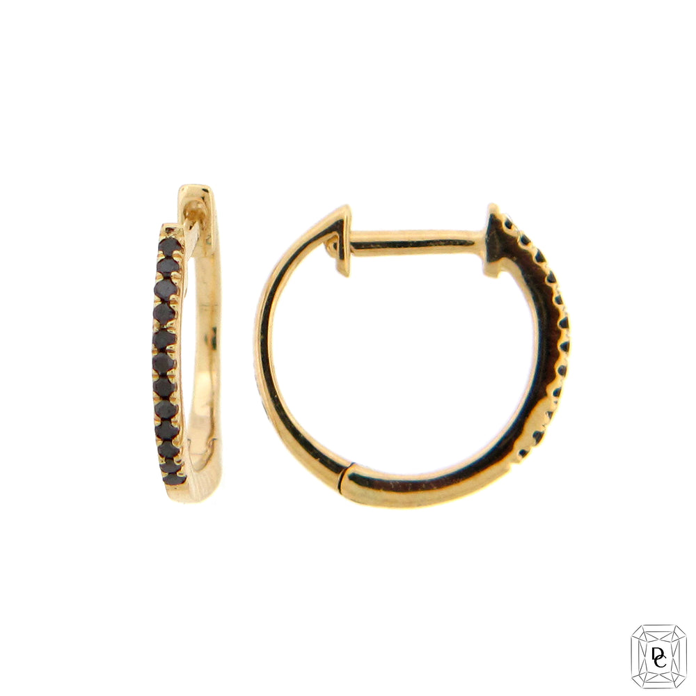 Black Diamond Mini Hoops