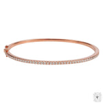 Diamonds Rosegold Cuff
