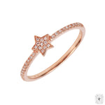 Diamond MiniStar Ring