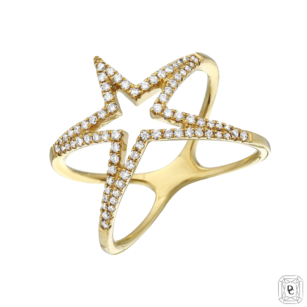 Hollow Star Ring
