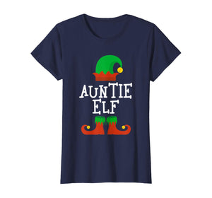 Auntie Elf Christmas Funny Xmas Gift T-Shirt