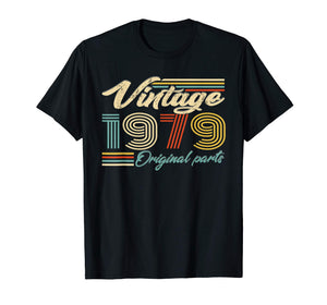 Made In 1979 Heart 40th Birthday Gift Vintage Shirt Tshirt