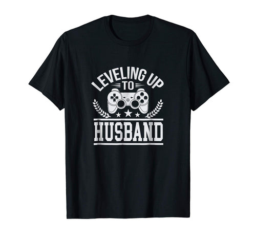Cute Leveling Up to Husband Wedding Tee Shirt