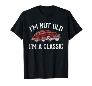Mens Funny Sarcastic Dad Shirts, Classic Car Gift Daughter Son