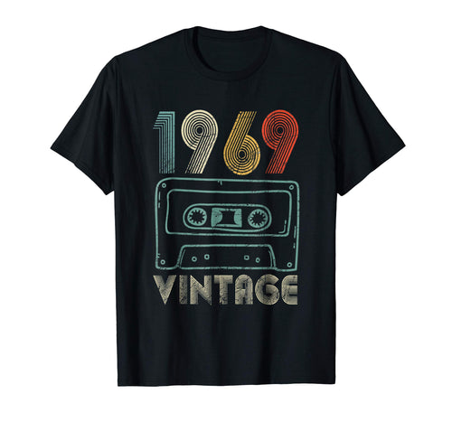 50th Birthday Gift Vintage 1969 for men and woman T-Shirt