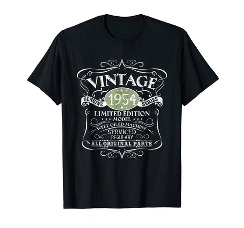 Vintage 1954 65th Birthday All Original Parts Gift T-Shirt