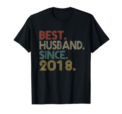 1st Wedding Anniversary Gift Best Husband Since 2018