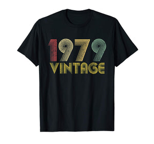 Vintage 1979 40th birthday gift 40 Years old Funny T-Shirt