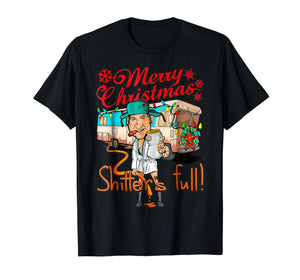 Merry Christmas Shitters Full Ugly Christmas Sweater T-Shirt