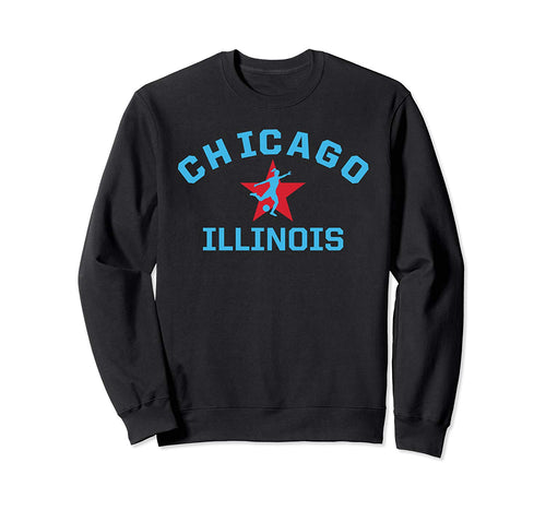 American Soccer Jersey Womens Chicago Top Red Stars Illinois Sweatshirt