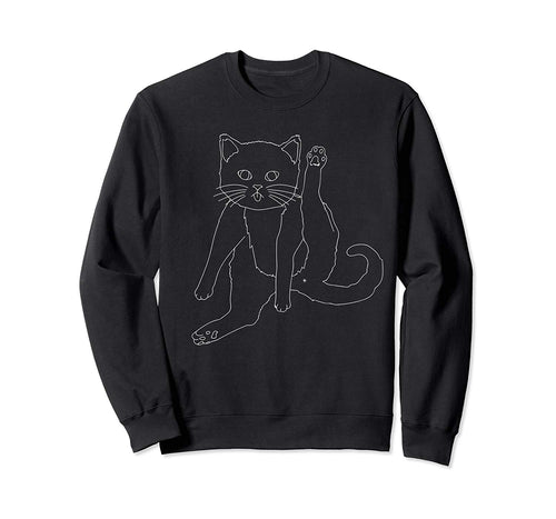 Cat Butt Sweatshirt, Funny Cat Gifts for Cat Lovers