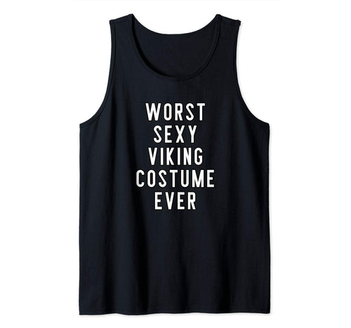 Couples Halloween Costume Worst Sexy Viking Costume Ever Tank Top