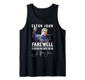 Funny Elton T Shirt John Love Gifts For Mens Womens Tank Top