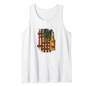 Long Neck Ice Cold Beer Shirt Tank Top