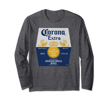 Afbeelding in Gallery-weergave laden, Corona Extra Bottle Label Long Sleeve T-Shirt
