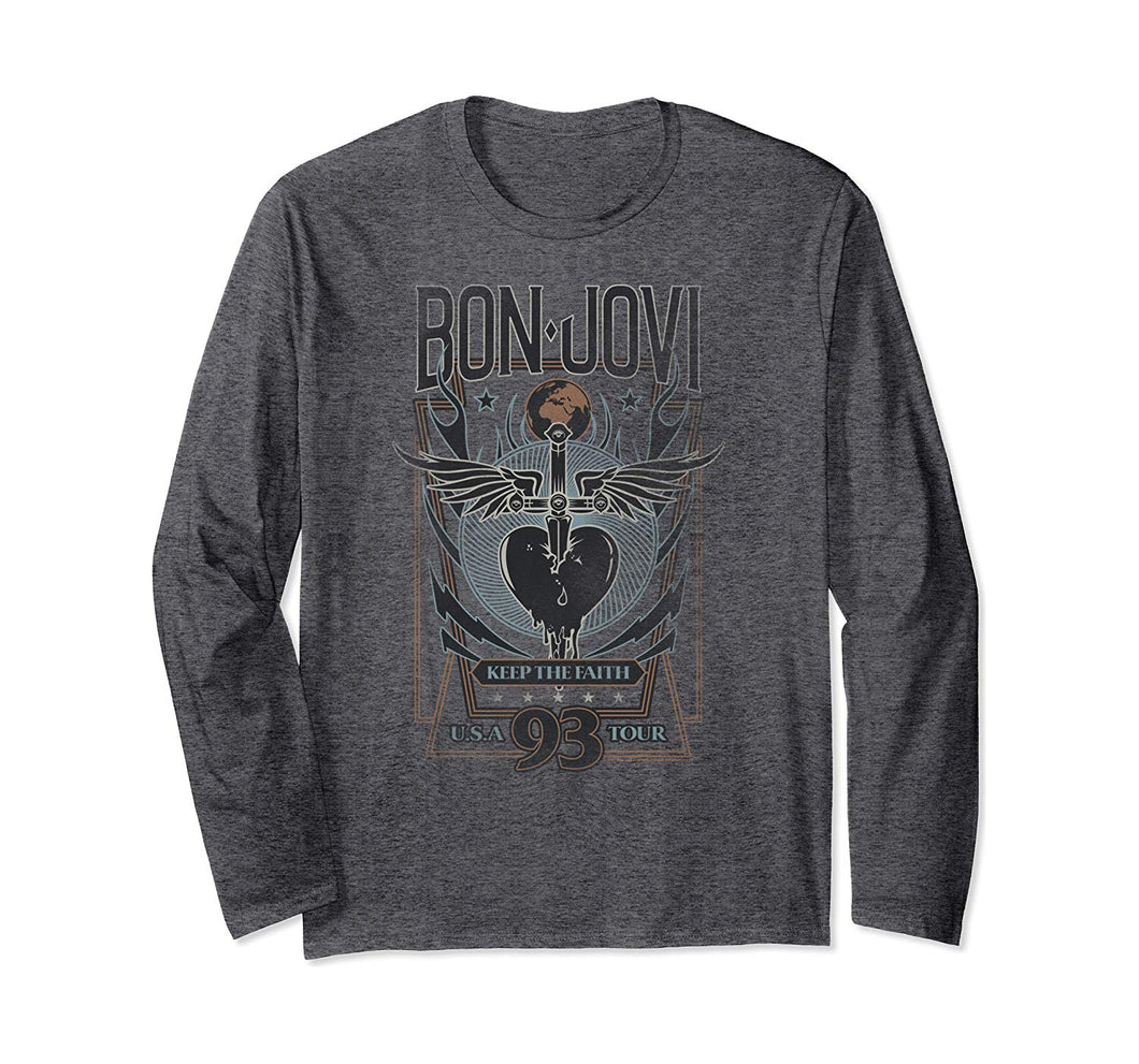 Bon Jovi Keep the Faith Long Sleeve T-Shirt