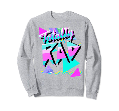 1980's-Style Totally Rad 80s Casual Hipster v.10.1 Sweatshirt