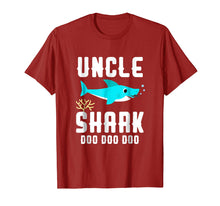 Afbeelding in Gallery-weergave laden, Uncle Shark Shirt, Fathers Day Birthday Christmas Gift 2018