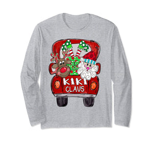 Kiki Claus Christmas Long Sleeve T-Shirt