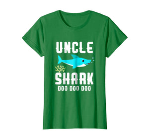 Uncle Shark Shirt, Fathers Day Birthday Christmas Gift 2018