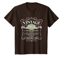 Afbeelding in Gallery-weergave laden, Vintage 1954 65th Birthday All Original Parts Gift T-Shirt