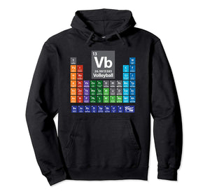 Periodic Table of Volleyball Hoodie