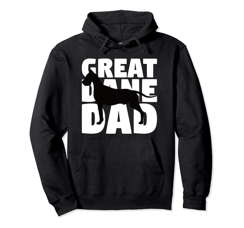 Great Dane Dad Hoodie Dog Father Great Dane Gift