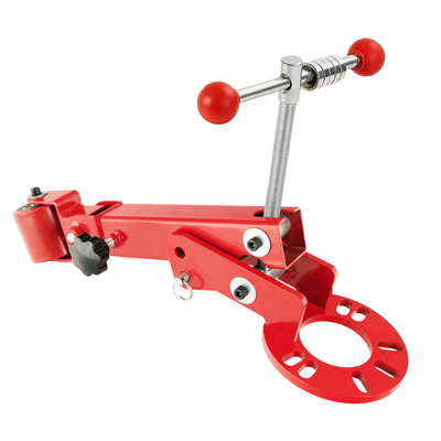 Fender Roller Tool Reforming Extending Auto Body Wheel Arch Roller Lip Flaring Heavy Duty, Red