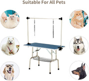 Nurxiovo 48 Inch Portable Pet Dog Grooming Table for Large Dogs sale