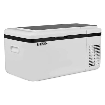 19QT Portable Car Refrigerator, Car Fridge Freezer, Fast Cooling (-13℉~68℉) for Vehicle, Boat, Home Use,12/24V DC