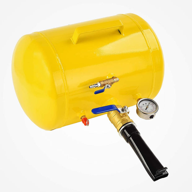 SUNCOO 5/10 Gallon Air Tire Bead Seater Steel Tank Blaster Wheel Tool Auto Repair Tool