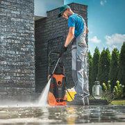 3000PSI Electric High Pressure Washer, 2.4 GPM 1800W Portable Power Washer with Brass Copper Motor Long Spray Gun