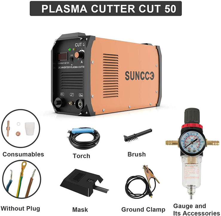 SUNCOO Portable Electric Metal Plasma Cutting Machine