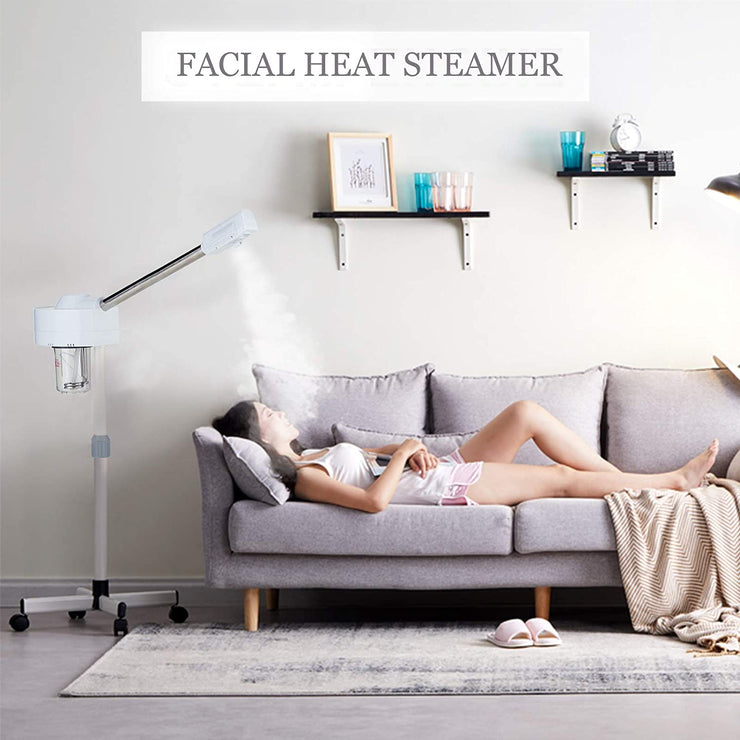 Professional Facial Steamer-Dakavia Ozone Steamer for Facial with Nano Ionic Warm Mist