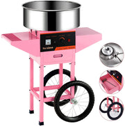Cotton Candy Machine cart -Nurxiovo Electric Commercial Candy Floss Maker,20Inch Pink