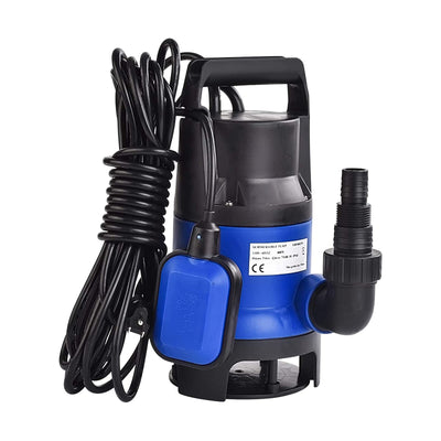 SUNCOO 1/2HP Submersible Sump Pump Clean/Dirty Water Pumping Sump Pumps 2100GPH 400W for Swimming Pool